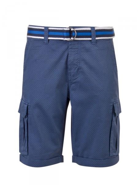 MILANO ITALY Herren Bermuda Shorts, navy