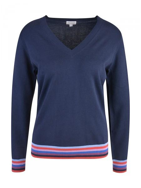 MILANO ITALY Damen Pullover, dunkelblau
