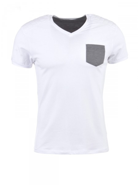 POOLMAN Herren T-Shirt, weiß