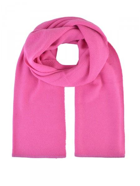 MILANO ITALY Schal mit Kaschmiranteil, pink