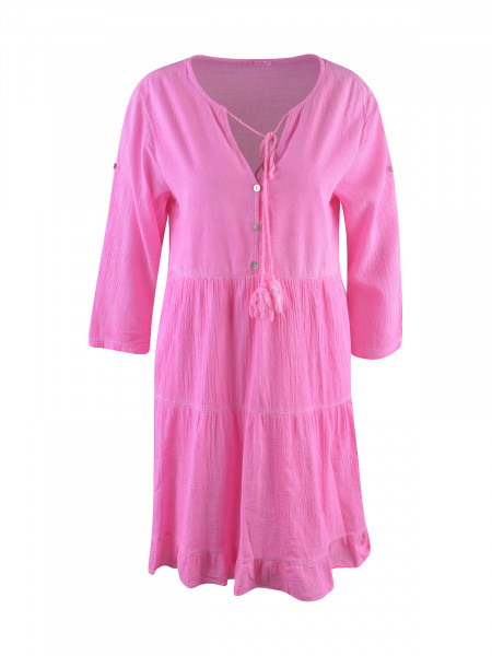 HEARTKISS Damen Kleid, neon pink