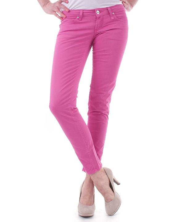 fiorucci-damen-jeans-pink