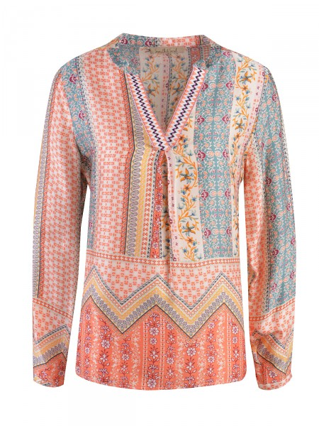 SMITH & SOUL Damen Bluse, orange
