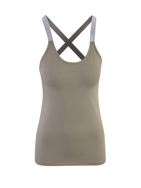 SMITH & SOUL Damen Top, oliv