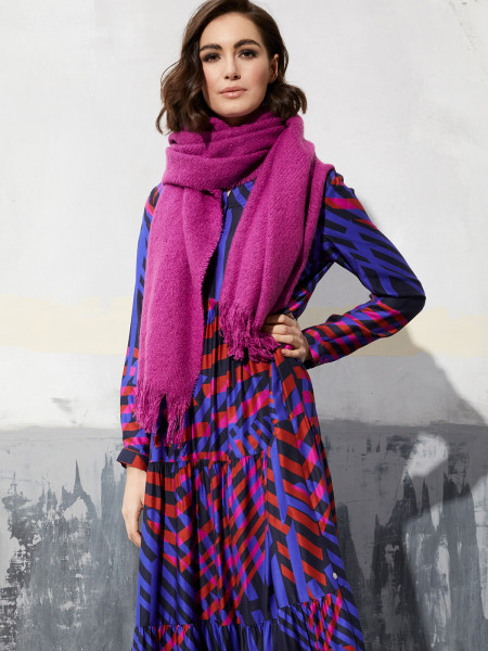 MILANO ITALY Damen Schal, magenta