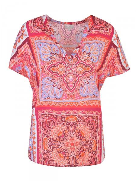 MILANO ITALY Damen Bluse, rot