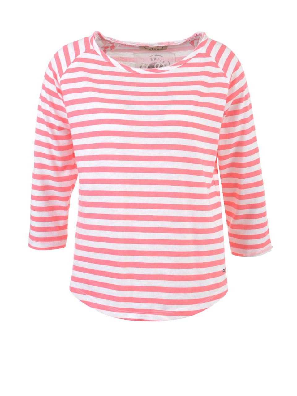smith-amp-soul-damen-shirt-koralle-wei-szlig-