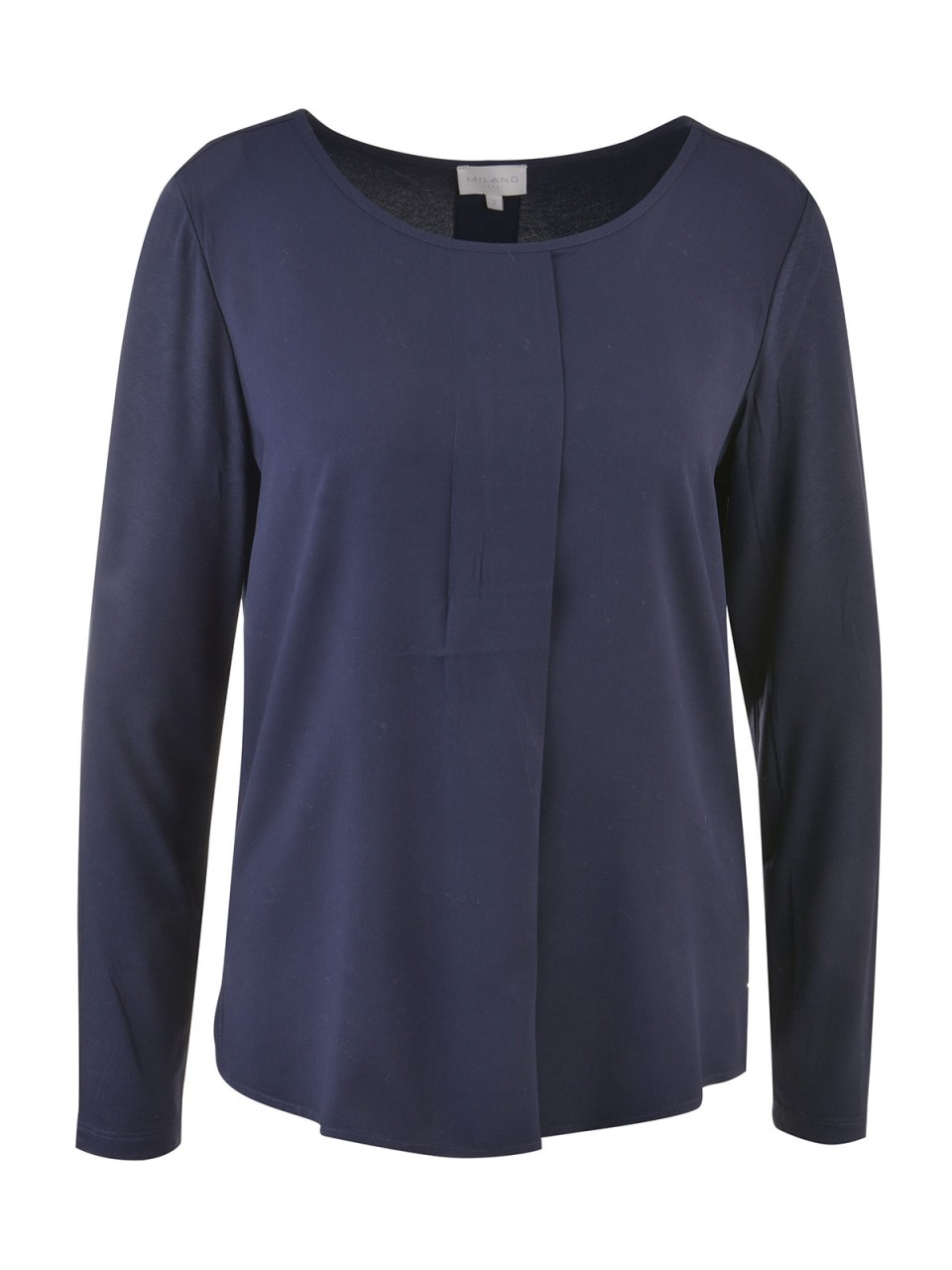 milano-italy-damen-bluse-dunkelblau