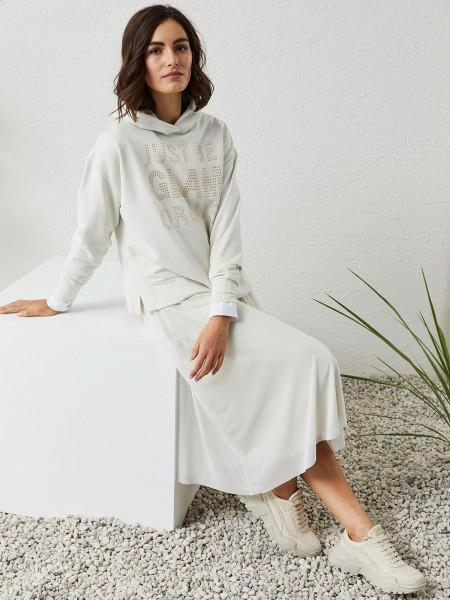 MILANO ITALY Damen Sweatshirt, creme