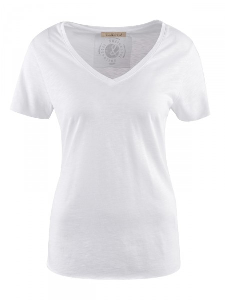 SMITH & SOUL Damen T-Shirt, weiß