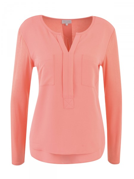 MILANO ITALY Damen Bluse, orange