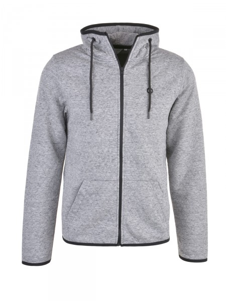 JACK & JONES Herren Sweatjacke, grau