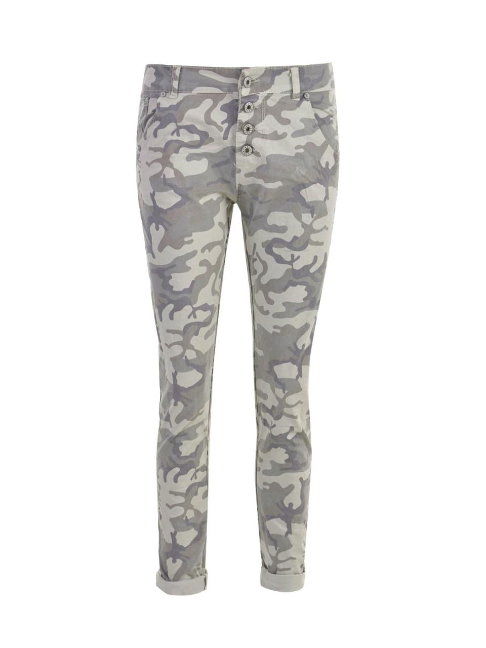 Hosen für Frauen - C M PREMIUM Damen Jeans, oliv  - Onlineshop Designermode.com