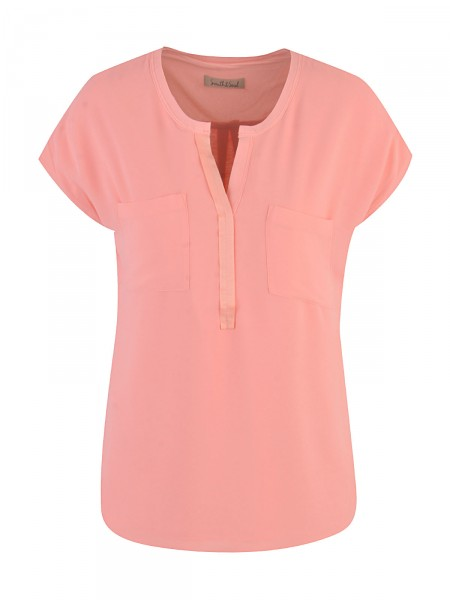 SMITH & SOUL Damen Bluse, neon orange