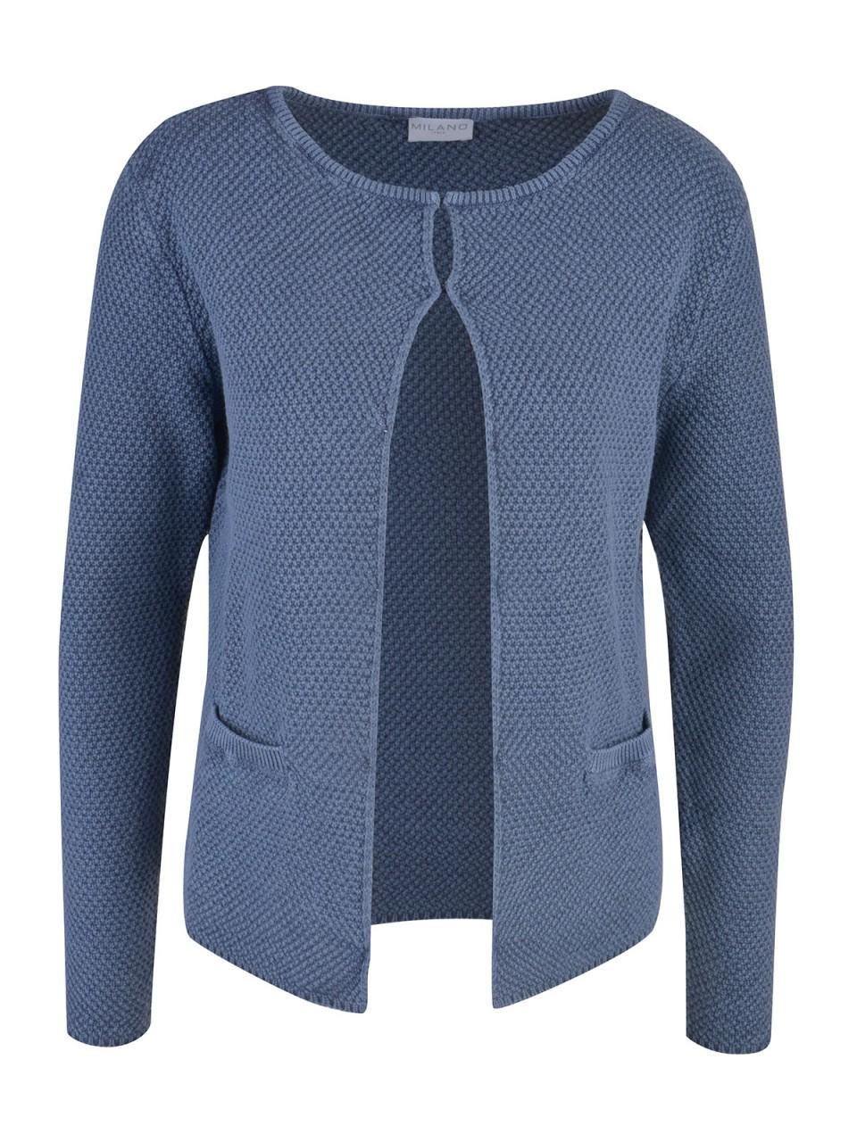 milano-italy-damen-cardigan-blau