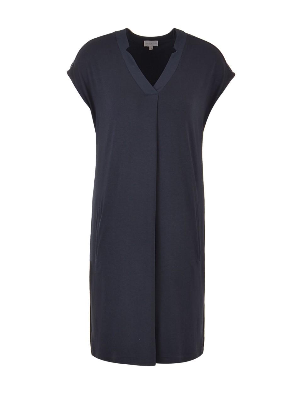Kleider - MILANO ITALY Damen Kleid, navy  - Onlineshop Designermode.com