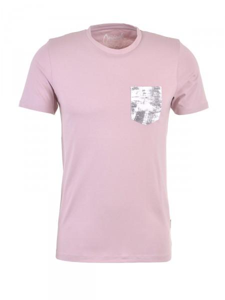JACK & JONES Herren T-Shirt, rosé