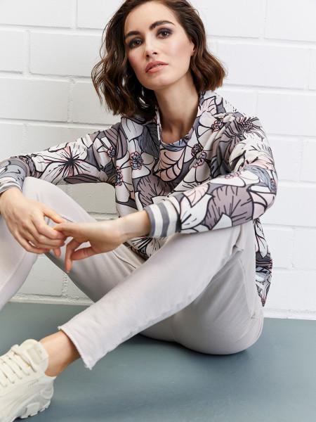 MILANO ITALY Damen Sweatshirt, grau