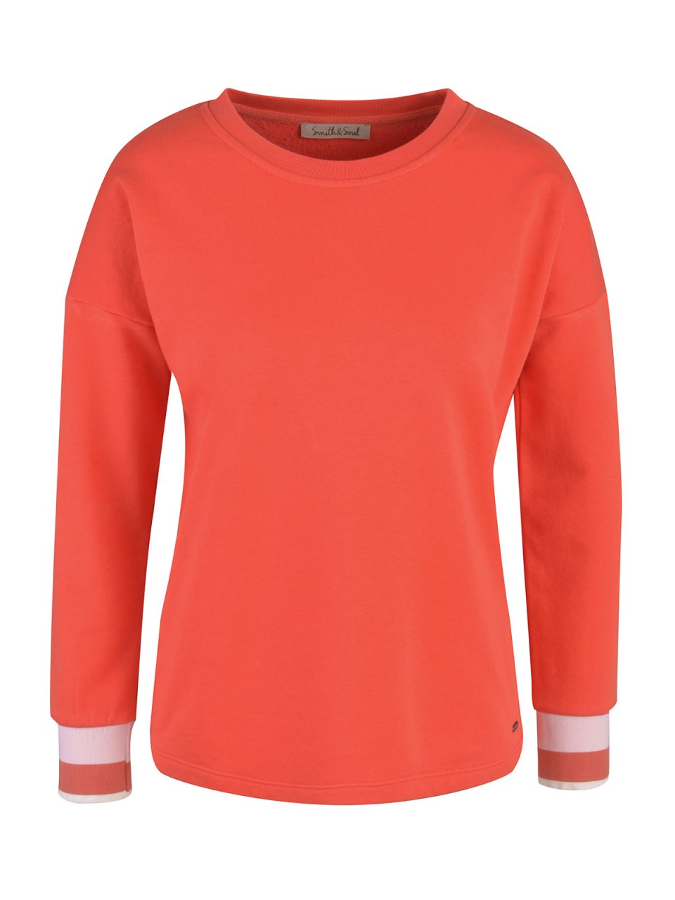 Oberteile - SMITH SOUL Damen Sweatshirt, rot  - Onlineshop Designermode.com