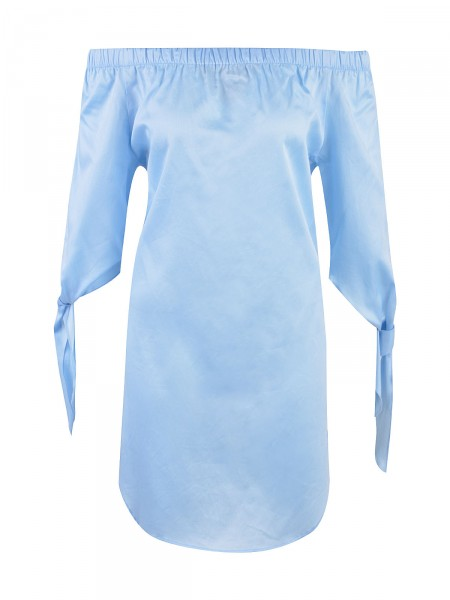MILANO ITALY Damen Kleid, hellblau