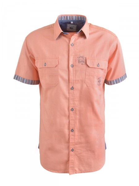MILANO ITALY Herren Hemd, orange