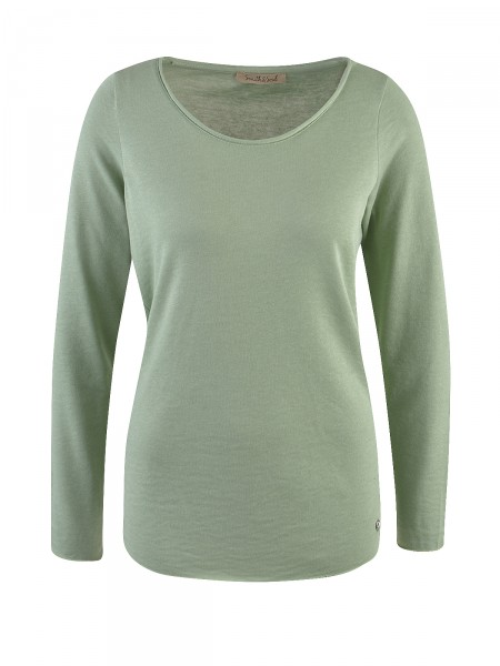 SMITH & SOUL Damen Langarmshirt, grün