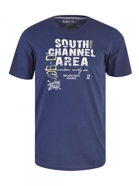 MILANO ITALY Herren T-Shirt, marine