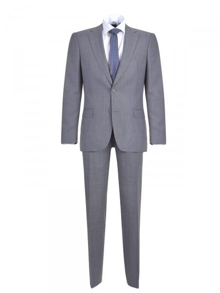MILANO ITALY Herren Anzug, grau