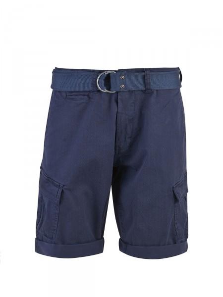 MILANO ITALY Herren Bermuda Shorts, dunkelblau