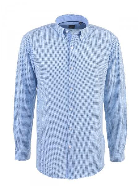 MILANO ITALY Herren Hemd, blau-navy