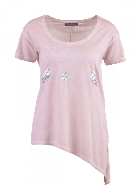 DECAY Damen T-Shirt, rosé