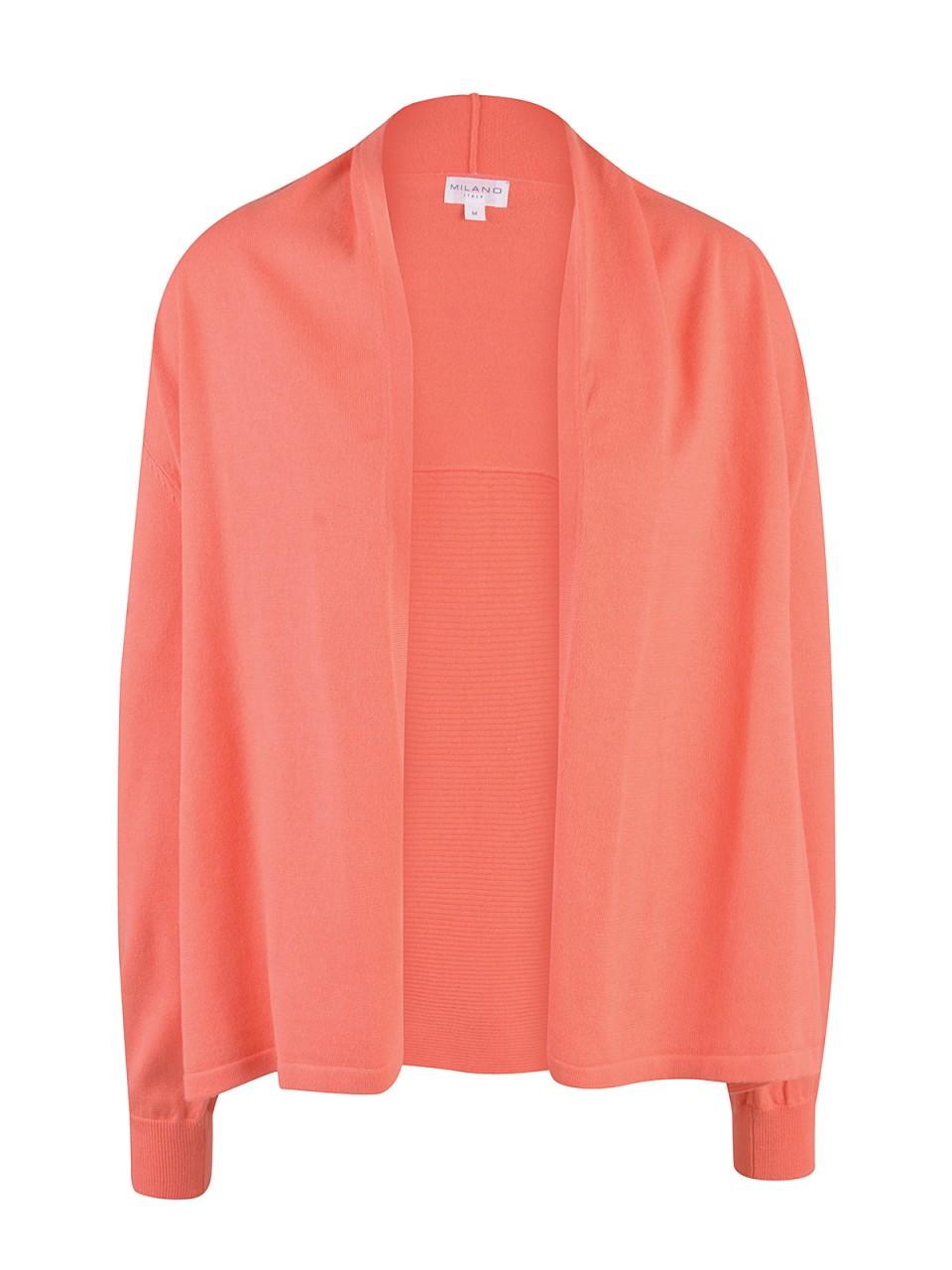 Jacken - MILANO ITALY Damen Cardigan, orange  - Onlineshop Designermode.com