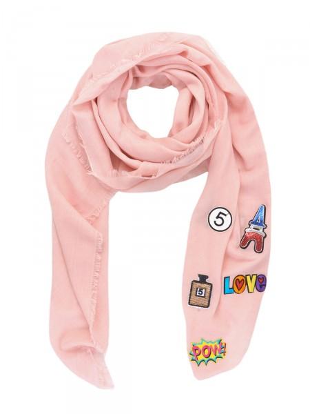HEARTKISS Damen Tuch, rosa