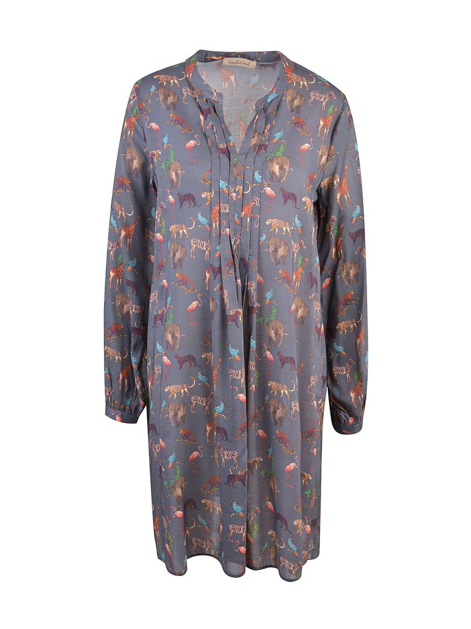 Kleider - SMITH SOUL Damen Kleid, grau  - Onlineshop Designermode.com