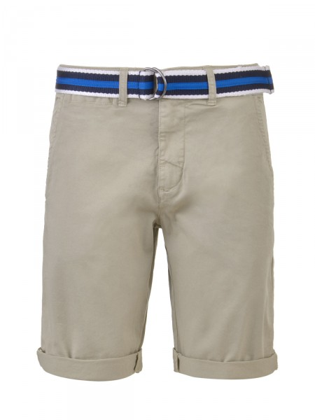MILANO ITALY Herren Bermuda Shorts, beige