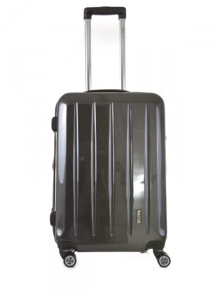 "MILANO ITALY Trolley ""London TSA 60 cm"", anthrazit carbon"
