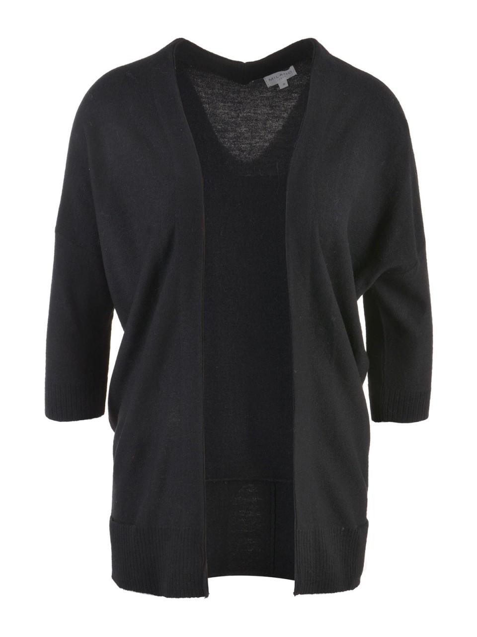 milano-italy-damen-cardigan-schwarz