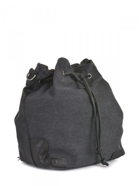 Canvas Damen Rucksack, anthrazit