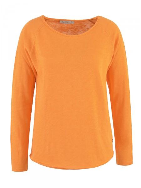 SMITH & SOUL Damen Langarmshirt, orange