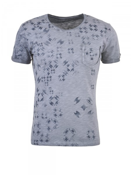 KEY LARGO Herren T-Shirt, grau