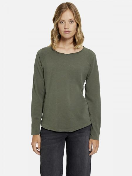 SMITH & SOUL Damen Langarmshirt, grün