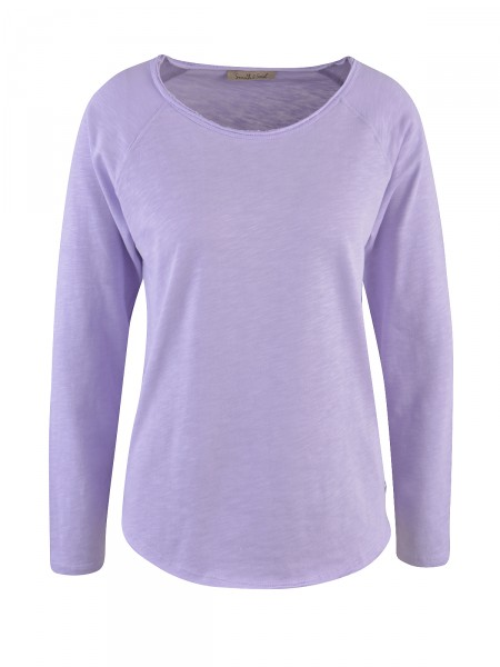 SMITH & SOUL Damen Langarmshirt, lavendel