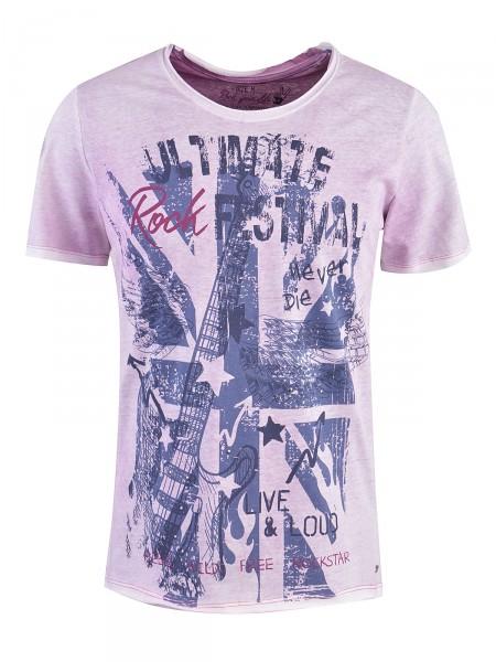 MILANO ITALY Herren T-Shirt, lila