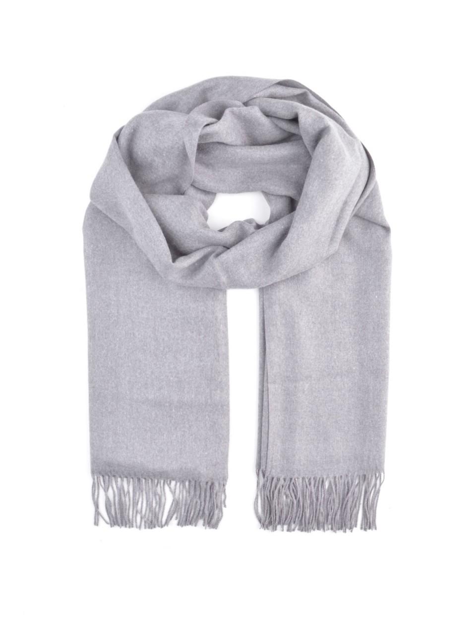 Schals - MILANO ITALY Damen Schal, grau  - Onlineshop Designermode.com