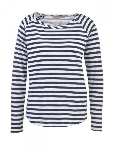 SMITH & SOUL Damen Shirt, navy-weiß