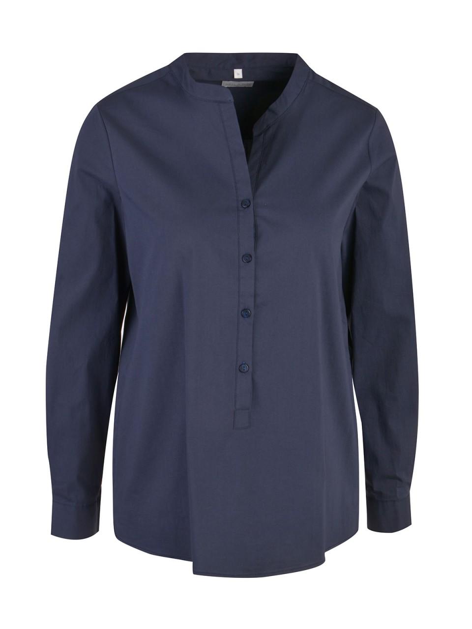 Oberteile - MILANO ITALY Damen Bluse, navy  - Onlineshop Designermode.com