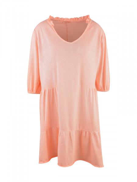 HEARTKISS Damen Kleid, neon orange