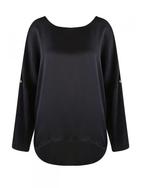 HEARTKISS Damen Bluse, schwarz