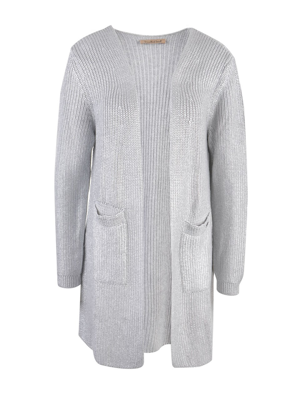 Jacken - SMITH SOUL Damen Cardigan, silber  - Onlineshop Designermode.com