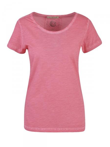 SMITH & SOUL Damen T-Shirt, puderrot